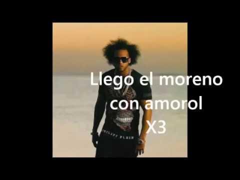 Llego el Moreno (Con Amorol) (Kareoke) (Letra) El Alfa El Jefe