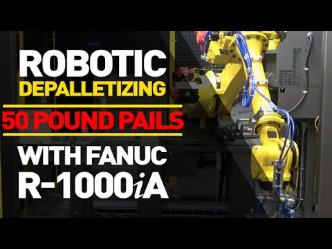 Automated Pail Depalletizing, Courtesy Of Sen-Pack
