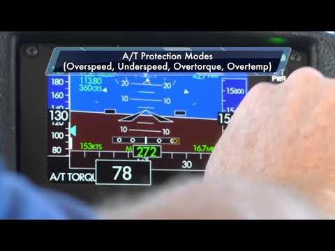 ISS ThrustSense® Full Regime Autothrottle Protection Modes