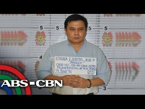 Jinggoy detained at Camp Crame for plunder