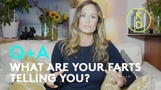 WHAT are your farts telling you? Nutritionist Kim D'Eon decodes main causes of your gas.