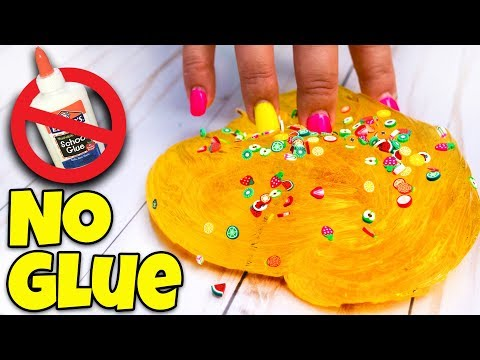 TESTING 5 SLIME WITHOUT GLUE RECIPES! 2 INGREDIENTS ONLY!