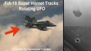 Video F/A-18 Super Hornet Tracks Rotating UFO download MP3, 3GP, MP4, WEBM, AVI, FLV Juli 2018