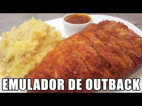 Costelinha Barbecue (Ribs on the Barbie) - Emulador de Outback Vídeos De Viagens