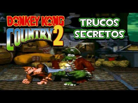 SNES Donkey Kong Country 2 - Trucos Secretos