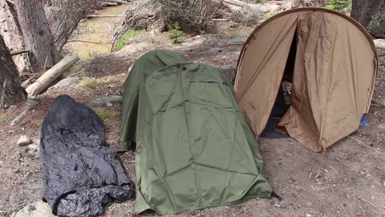 Special Forces Bivy Bag and Ionosphere Tent Review from ...