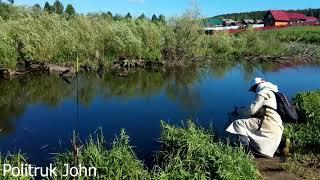 Речка Брясянка, д. Гилева, Средний Урал, июнь/Brusyanka river, Gileva village, Middle Urals, June