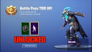 UNLOCKING FREE FLOW EMOTE!! FORTNITE: BATTLE ROYALE*
