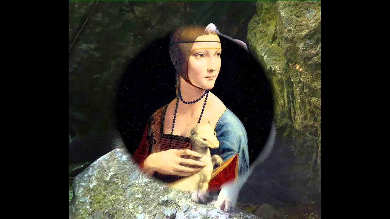 20. Leonardo da Vinci, Dame mit Hermelin, 1489/1490