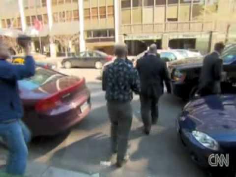 Radical Ambushes GOP Senate Majority Leader Mitch McConnell to Throw Money at Him