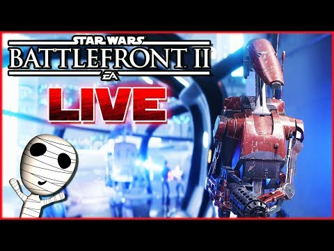 Lasst die Klonkriege beginnen! 🔴 Star Wars: Battlefront II // PS4 Livestream thumbnail