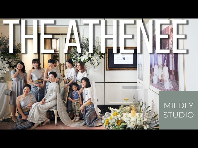 Engagement @ The Athenee Hotel วีดีโอพิธีหมั้น ณ โรงแรม ดิ แอทธินี โฮ เทล แบงค็อก Pimarn Siam Hall