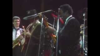 "Chuck Berry, Keith Richards, Jerry Lee Lewis, Neil Young – ""Roll Over Beethoven"""