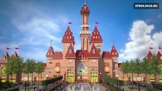 В Москве строится гигантский парк аттракционов «Остров мечты»