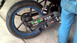 Knalpot Byson Knalpot Ixill Underbone Racing Custom
