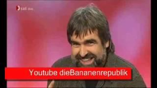 26.11.2013 Volker Pispers hört auf - nach 13 Jahren Kabarett auf WDR 2 - die Bananenrepublik