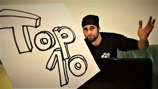 TOP 10 Most Difficult Trick Shots With The Throwing Weapons