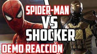 Marvel´s Spider-Man PS4 - Shocker Boss Fight Demo E3 2018: Reacción