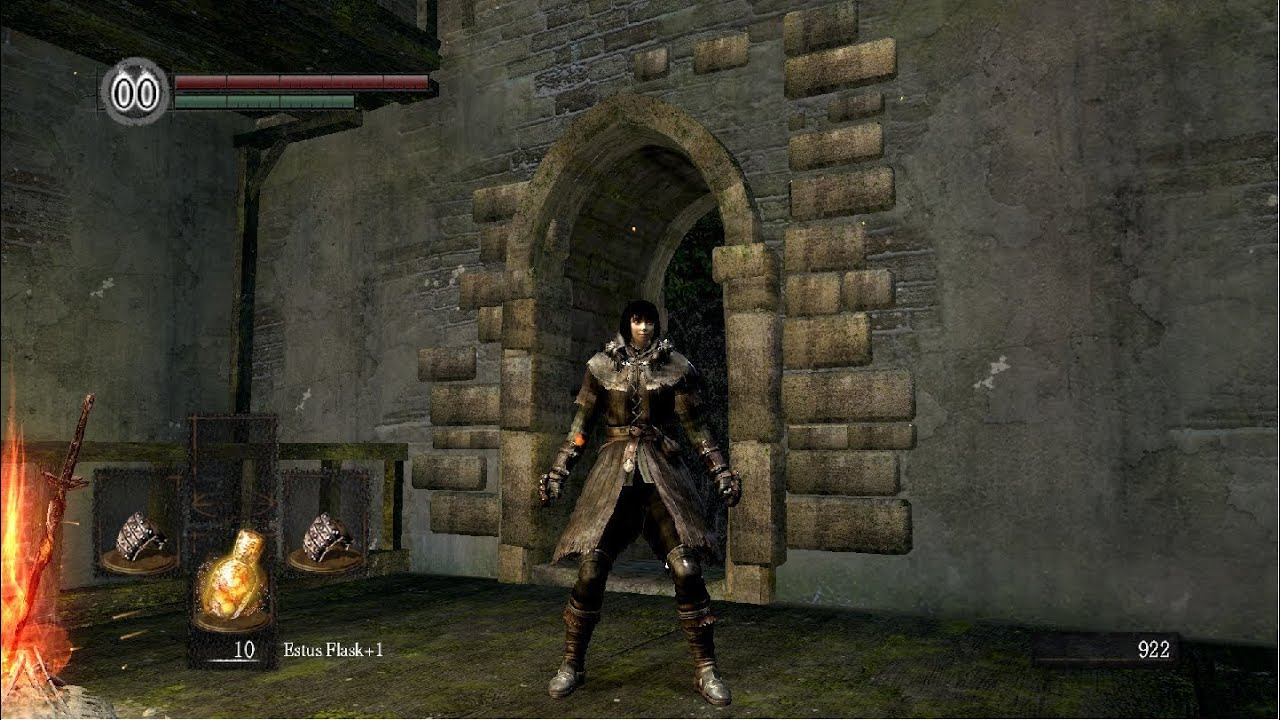 Dark Souls - The Adventures of Tifa 01 - Darkroot Garden, MOONLIGHT ...