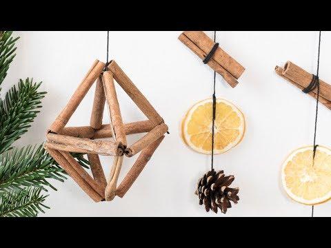 DIY : Aromatic cinnamon ornaments by Søstrene Grene