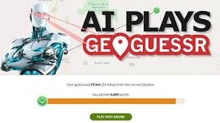 AI Learns to PĮay GeoGuessr