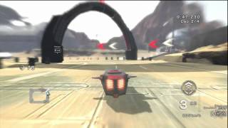 Fatal Inertia EX - Exhibition Race on Proving Grounds Track HD Gameplay Playstation 3