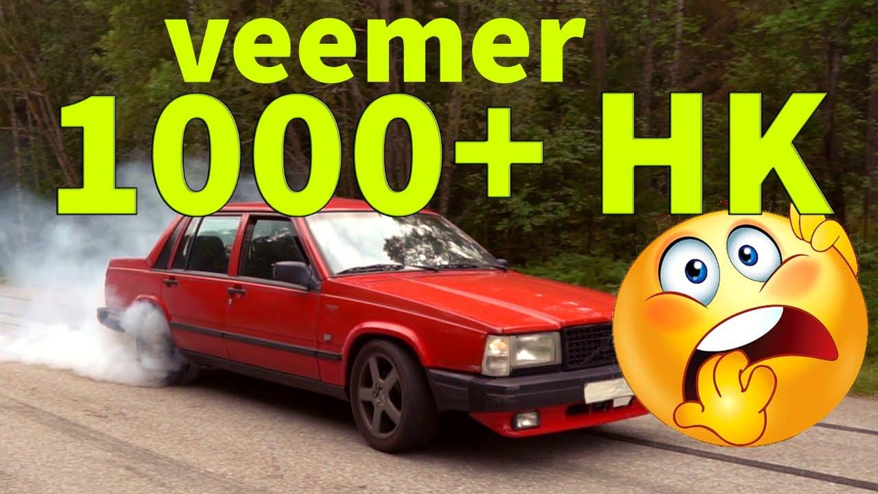VOLVO 740 MED ÖVER 1000 HK!  | Veemer | SLEEPER