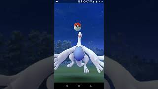 I Caught Lugia from Field Research Tasks in Pokemon Go : Legendary Psychic Pokemon