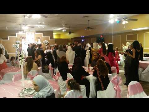 A Palestinian American wedding in Arlington,  TX