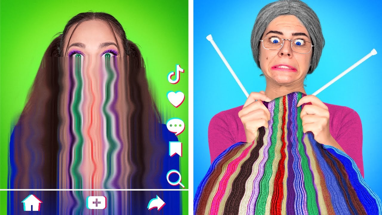 Download My Grandma is a Fan of Squid Game - ESCAPE From GRANNY'S House | Funny Struggles by La La Life Games