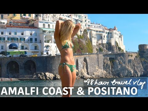 BEST TRAVEL DESTINATIONS | 48 hours in the Amalfi Coast & Positano travel vlog - BEST OF ITALY