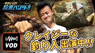 VODオリジナルコンテンツ『それ行け!珍魚ハンター』【番組紹介】