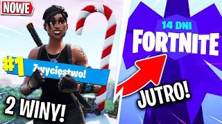 14 DNI FORTNITE - EVENT *JUTRO*! DWA WINY W JEDNYM ODCINKU?! | Fortnite - Battle Royale