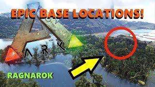 ARK - 5 UNKNOWN EPIC BASE LOCATIONS! (RAGNAROK)