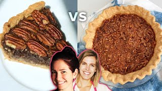 Pie Challenge: Would You Rather Have A Pretzel Pie or Chocolate Pecan Pie? • Tasty