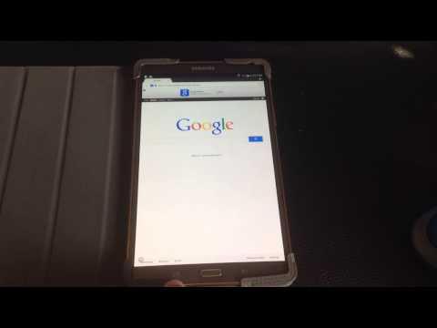 Samsung Galaxy Tab S 8.4 & 10.5 Tip: Hidden Menu Button