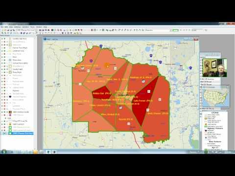 Integrating GIS And R-Statistics