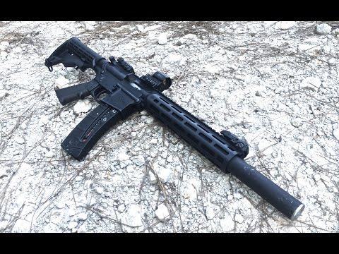 Integrally Suppressed Innovative Arms M&P 15-22 Review
