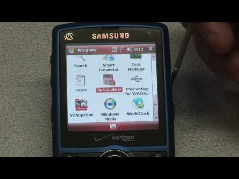 Verizon Samsung Saga Software Tour