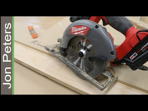 Best Circular Saw Jig - How to Make perfect Straight cuts