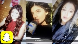 Kylie Jenner Shares THROWBACK PICS On Snapchat | Kylie Snaps