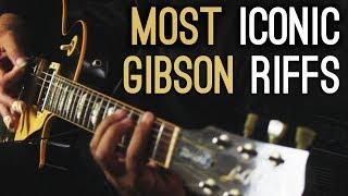 Top 8 legendary Gibson rock metal guitar riffs Igor Presnyakov