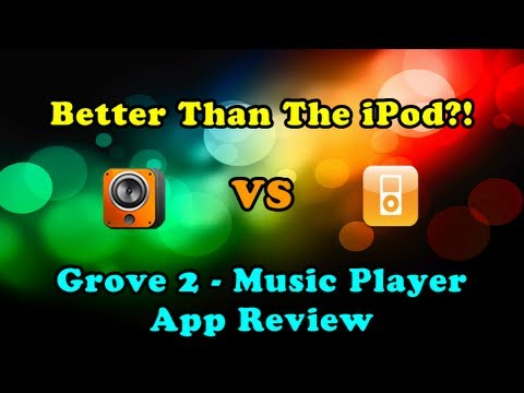 Better Than The iPod?! || Groove 2 - Music Player App Review