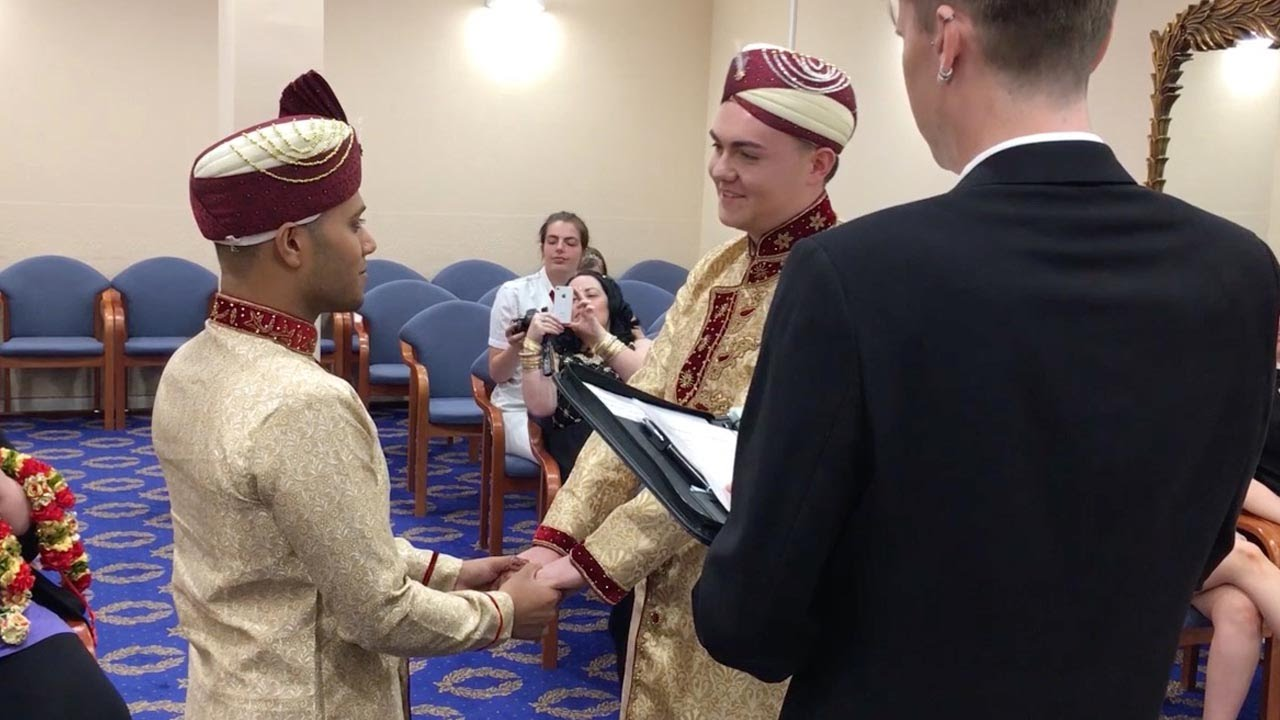 first muslim same sex marriage - youtube