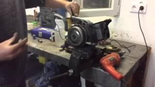 Motosteph 90140: Mise en route moteur mobylette Peugeot 101 102 sans carburateur.