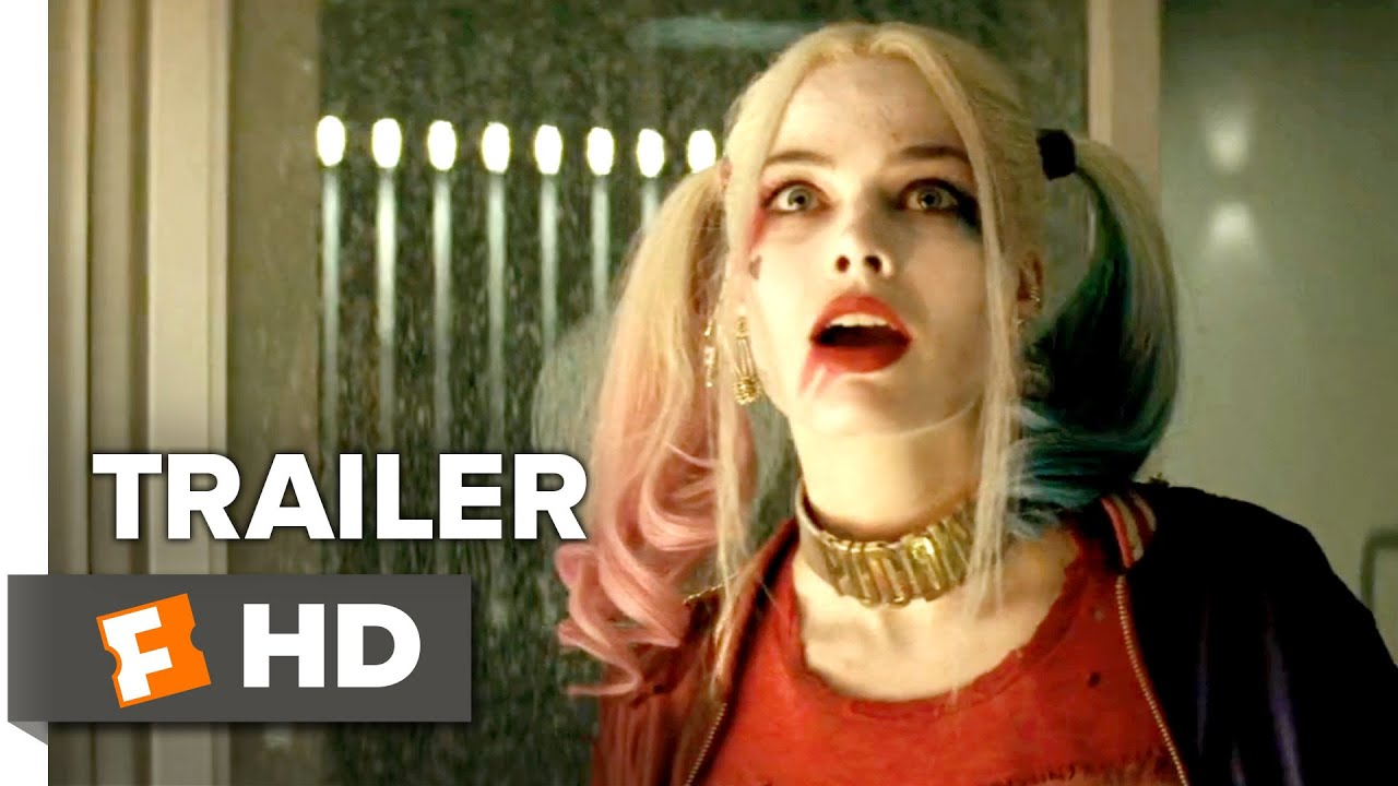 Joker Metallschrank Suicide Squad Official Trailer 1 2016 Jared Leto Margot Robbie Movie Hd
