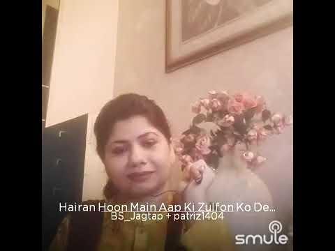 Hairan Hun Mai Aap Ki Zulfon Ko Dekhkar