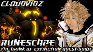 Runescape The Brink of Extinction Quest Guide HD