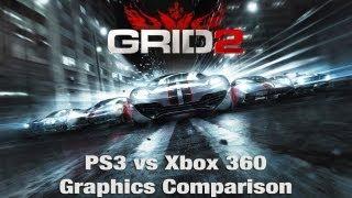 GRID 2 - PS3 vs Xbox 360 - Graphics Comparison