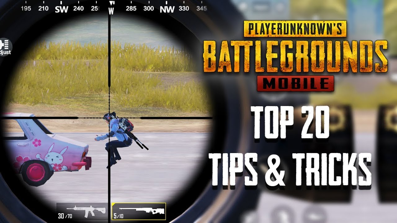 Top 20 Tips Tricks In Pubg Mobile Ultimate Guide To Become A Pro 6 Youtube